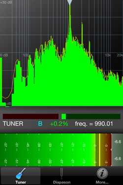 Accordatore per Chitarra Smartphone n-Track Tuner screen 01