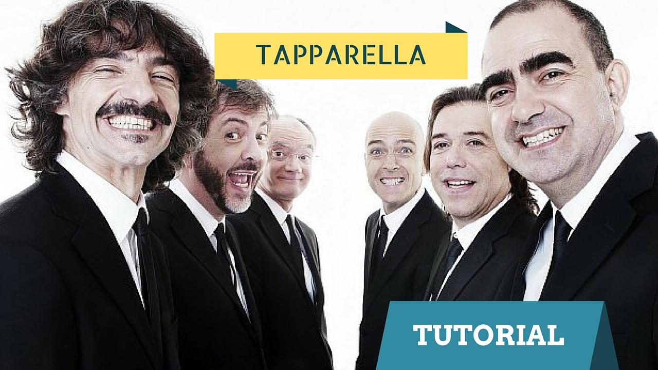 TUTORIAL CHITARRA TAPPARELLA ARPEGGIO ELIO E LE STORIE TESE