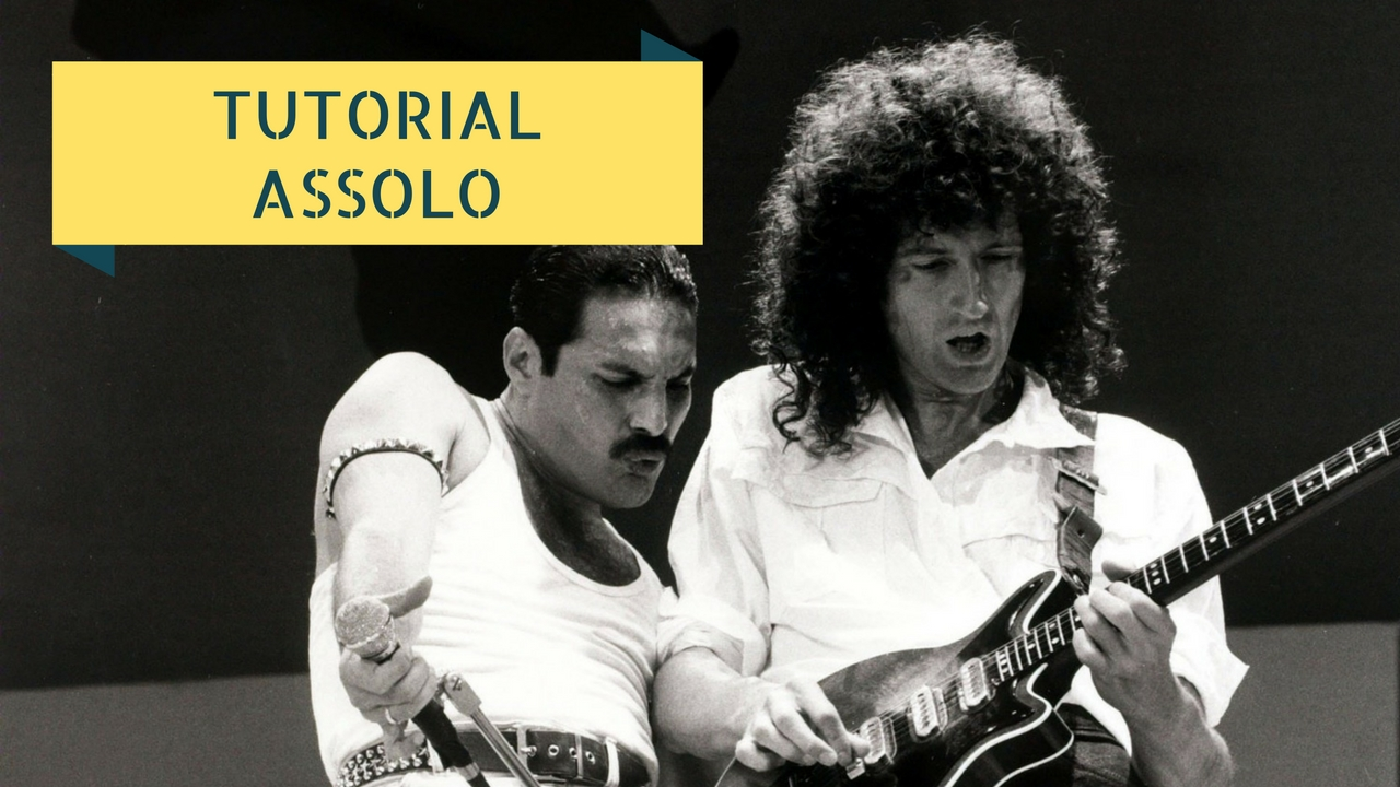 tutorial assoli facili - too much love will kill you - queen brian may