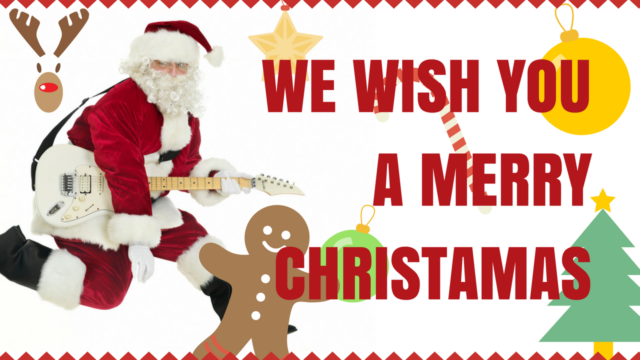 Canzoni di Natale - We Wish You A Merry Christmas - Tutorial Accordi