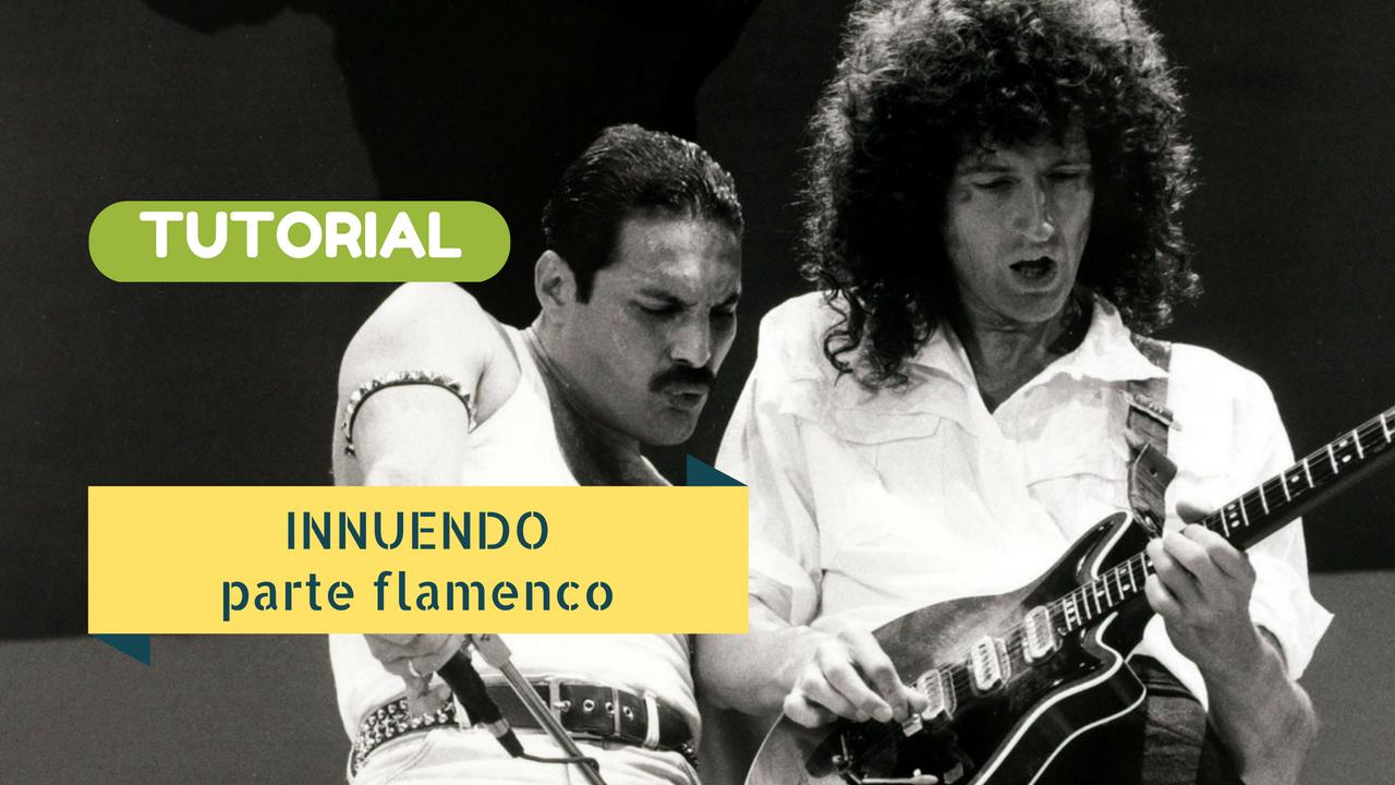 Innuendo Queen - Tutorial Lezione di chitarra classica - Flamenco