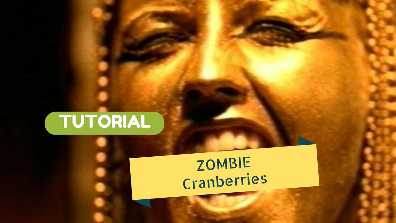 tutorial chitarra zombie cranberries