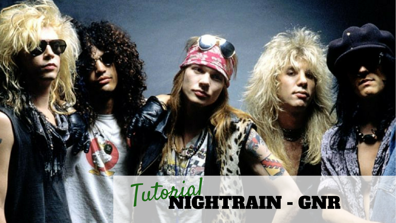 Nightrain - Guns And Roses - Tutorial Chitarra