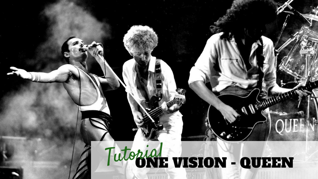 TUTORIAL LEZIONE DI CHITARRA ONE VISION QUEEN ASSOLO