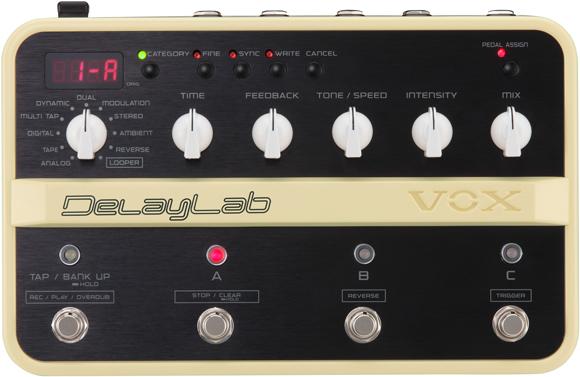 VOX DelayLab - effetti chitarra