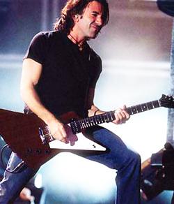 Chitarristi Famosi: Stef Burns, chitarrista di Vasco Rossi ...