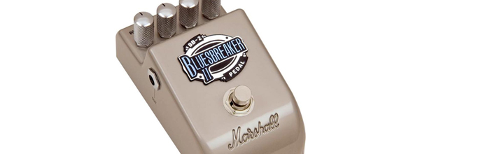 marshall blues breaker bb2 effetti chitarra overdrive