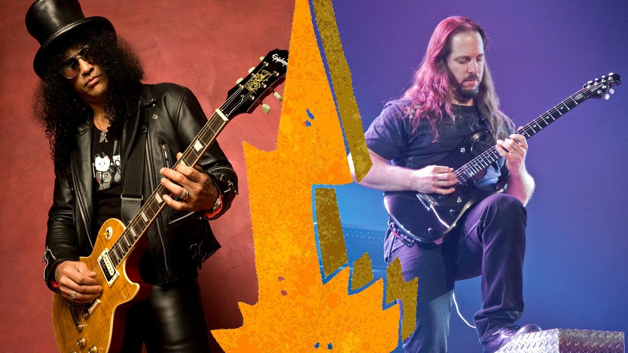 Chitarristi Famosi - Meglio Slash o Petrucci chi è il migliore