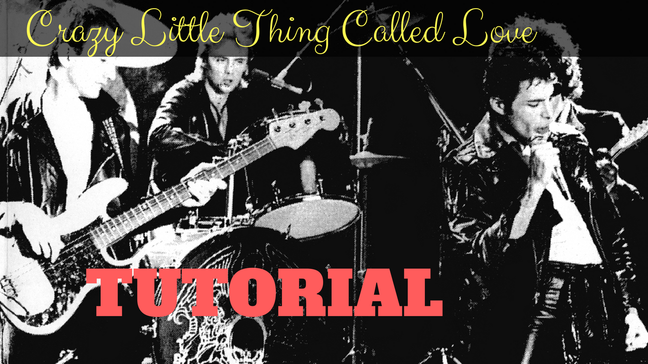 Crazy Little Thing Called Love - Queen - Tutorial e Accordi Chitarra