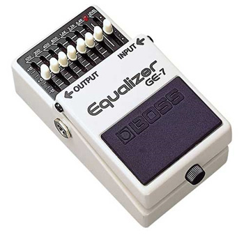 BOSS GE7 Equalizzatore